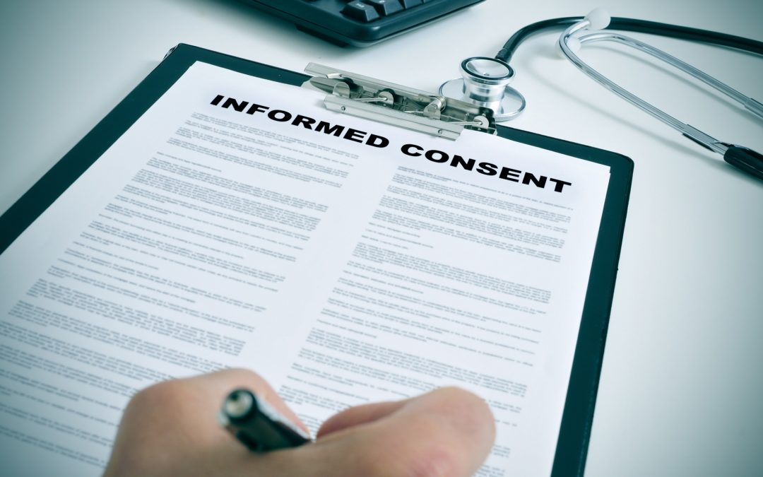 Is the informed consent form the sole proof of compliance ?